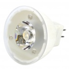 MR11 1.2W 2700K 80-Lumen Warm White LED Light Bulb (DC 12V)