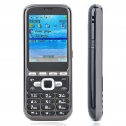 "C8 2.2"" LCD Quad SIM Quad Network Standby Quadband TV Cell Phone - Black"