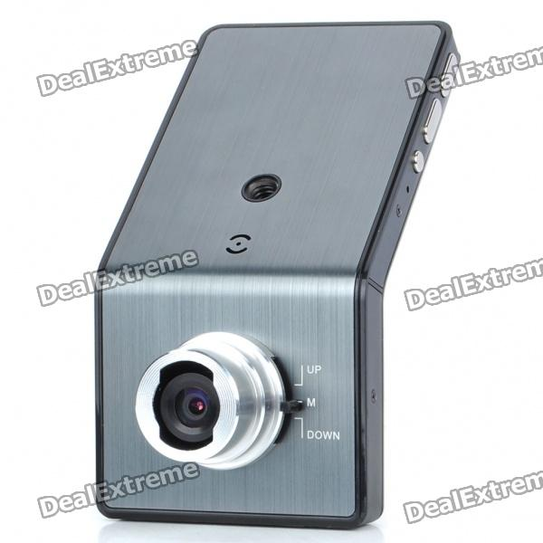 где купить 720P 5MP Wide Angle Car DVR Camcorder w/ Night Vision/TV-Out/HDMI/TF - Silver Grey (2.4