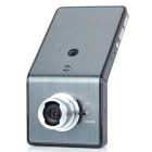 720P 5MP Wide Angle Car DVR Camcorder w/ Night Vision/TV-Out/HDMI/TF - Silver Grey (2.4