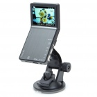 "720P 5MP Wide Angle Car DVR Camcorder w/ Night Vision/TV-Out/HDMI/TF - Silver Grey (2.4"" TFT LCD)"
