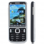 "E77 2.8"" LCD Screen Dual SIM Dual Network Standby Quad-band Bar Cellphone w/ TV - Silver + Black"