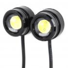 1.5W 10000K 110-Lumen Eagle Eye White Lights for Car (12V / Pair)