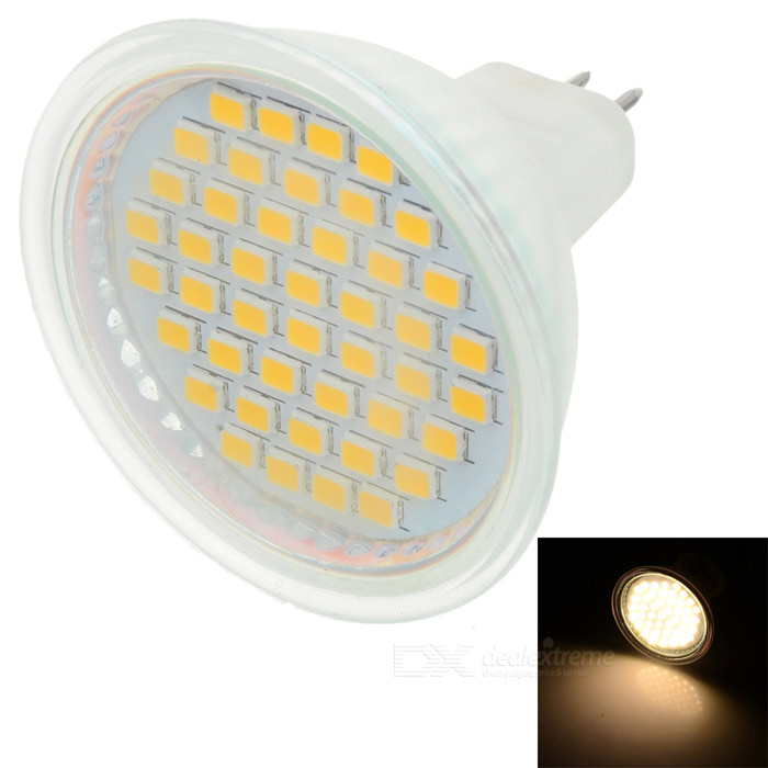 MR16 3W 3200K 260-Lumen 44x3528 SMD LED Warm White Light Bulb (220V)
