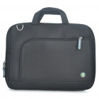 "Protective Nylon Handbag One Shoulder Bag for 14"" Laptop Notebook - Black"