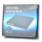 USB External Blu-Ray DVD-RW Drive - Black