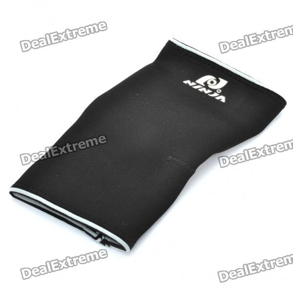 Sports Protection Elastic Elbow Support - Black (Size L) kansa k 063 outdoor sports elastic ankle support guard protector white