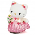 Buy Hello Kitty Figure Music Spiral Spring Toy - White + Pink