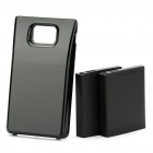 3.7V/3500mAh Li-ion Battery + Protective Case for Samsung Galaxy S2/i9100 (2 Pieces of Batteries)