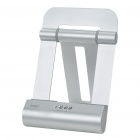 Fashion Data Sync and Charging Docking Station w/ Speaker for iPad/iPad 2/iPhone/iPod - Silver