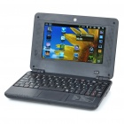 "7 ""LCD Android 2.2 UMPC Netbook W / Camera / Wi-Fi (WM8650 800MHz/4GB/RJ45/SD)"
