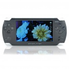 "JXD V1000 4,3 ""TFT LCD MP3/MP4 Medien Games Player w / 300KP Kamera / FM / Voice Recording / E-book / TF - BLK"