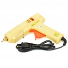 60W Hot Melt Glue Gun - Yellow + Orange (100~240V)