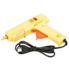 80W Hot Melt Glue Gun - Yellow + Orange(100~240V)