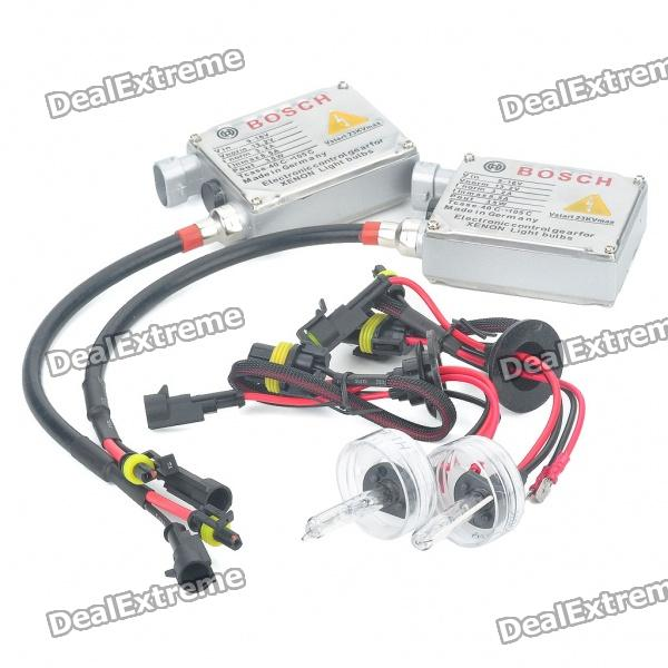 H1 35W 6000K 3600Lumen White Xenon HID Headlamps (DC 9~16V/Pair) ecar e4035 can bus universal replacement 35w hid ballast dc 9 16v