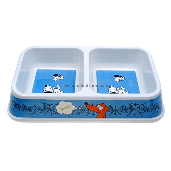 Twin Feeding Bowl for Pets