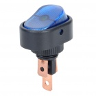 Car Rocker Switch with Blue LED Indicator (12V)