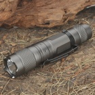 180-Lumen 2-Mode White LED Flashlight with Clip (1 x AA / 1 x 14500)