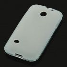 Protective Soft PVC Back Case for Huawei C8650 - White