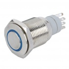 Car Switch with Blue LED Indicator (12V)