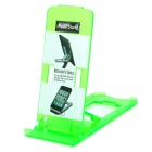 Portable 5-Level ABS Stand Holder for Ipad 2/Ipod Touch 4/Iphone 3g/4 - Green