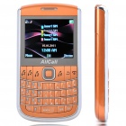 "E9650B 2.2"" LCD Screen Qwerty Quad SIM Quad Network standby Quadband Bar Phone w/WiFi + TV - Orange"