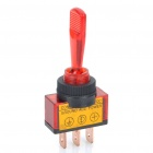 Car Toggle Switch with Red LED Indicator (12V / Vehicle DIY)