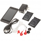 "B63M 4.1"" Capacitive 3G Android 2.3 Dual SIM Dual Standby WCDMA Smart Phone w/ GPS / WiFi - Grey"