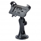 Car Suction Cup 270° Swivel Holder + USB Cable for HTC EVO 3D - Black