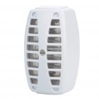 AC Powered UV Lamp Mosquito Insects Killer - White (AC 220~240V/EU Plug)