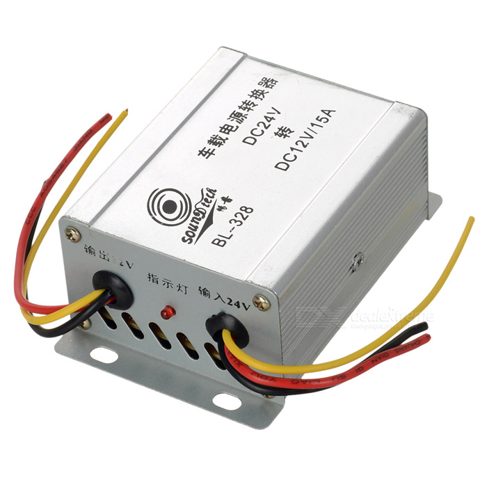 Car Power Supply DC 24V to DC 12V Converter 300 400ml min 24v dc jyy brand big ink pump for solvent printer with free shipping cost by dhl