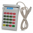 USB POS Numeric Keypad Card Reader - White