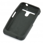 Silicone Protective Case for LG Revolution 4G/VS910 - Black
