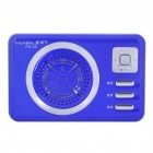 PANDA PN-29 MP3 Player Speaker w/ Voice Recorder/TF/USB/AUX - Blue (1 x 14500)