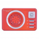 PANDA PN-29 MP3 Player Speaker w/ Voice Recorder/TF/USB/AUX - Orange (1 x 14500)