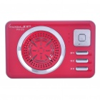 PANDA PN-29 MP3 Player Speaker w/ Voice Recorder/TF/USB/AUX - Red (1 x 14500)
