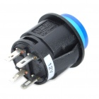 Car Push Button Switch with Blue LED Indicator (12V / Vehicle DIY)