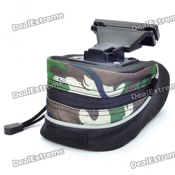 Cycling Bicycle Bike Fashion Saddle Seat Tail Bag - Camouflage