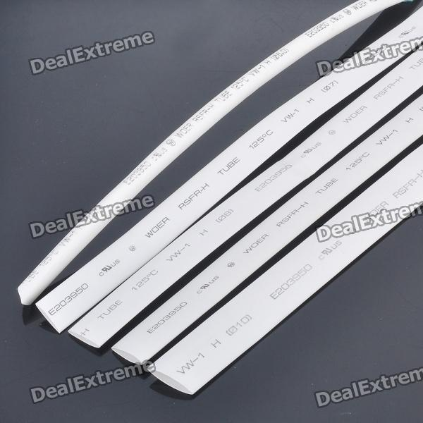 3-Meter Heat Shrinkable Tubes Set (6/7/8/9/10mm/5-Piece) 1mm diameter clear polyolefin heat shrinking tube 20m