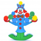 Clown Balance Beam Wooden Toy