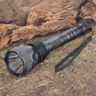 CREE SST6 800-Lumen 5-Mode LED Flashlight with Strap - Black (2x18650)