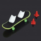 Noctilucent Finger Skate Board Assembly Kit