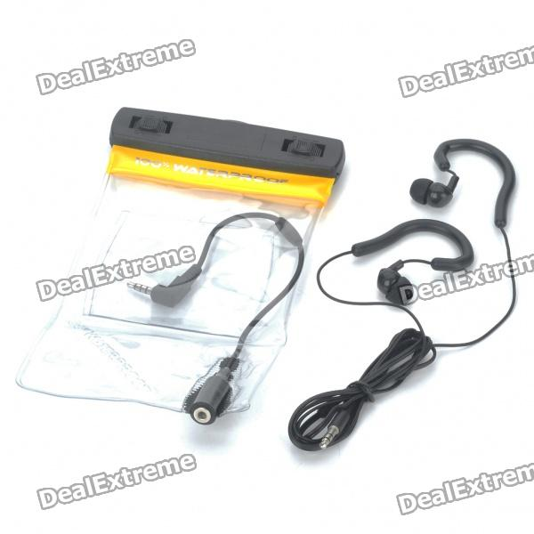 Waterproof Bag with Earphone/Armband/Strap for Cell Phone/MP3/MP4/Iphone