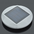 Fashion Solar Powered Charger for 4 x AA Batteries - White (1.5V)