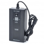 "0.7"" LED 100W Universal Car/Home Laptop Power Adapter w/ 8 Adapters/USB Power Port"