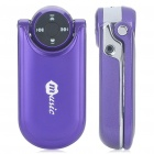 "H100 1.4"" Dual SIM Dual Network Standby Quadband GSM Cell Phone - Purple"