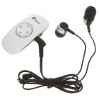 AC Rechargeable Bluetooth V2.1 A2DP Stereo Audio Receiver w/ 3.5mm Earphone - White