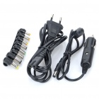100W Universal Car/Home Laptop Power Adapter w/ 8 Adapters/USB Power Port