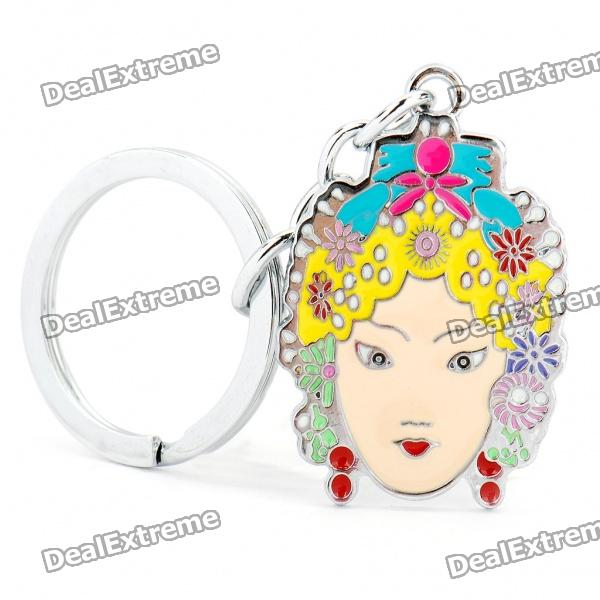 Peking Opera Female Role Style Keychain - Colorful