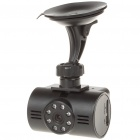 "5.0MP Wide Angle Car DVR Camcorder w/ 8-LED Night Vision/Mini USB/TF Slot (2.0"" TFT LCD)"